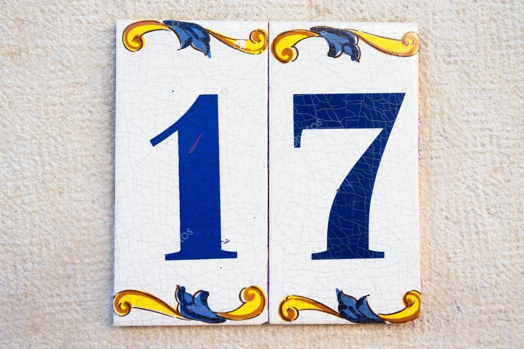 Numero civico targa ceramica insegna mattonella ovale eur