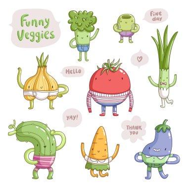 Funny veggies