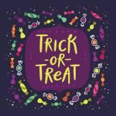 Candy fogás vagy élvezet kártya