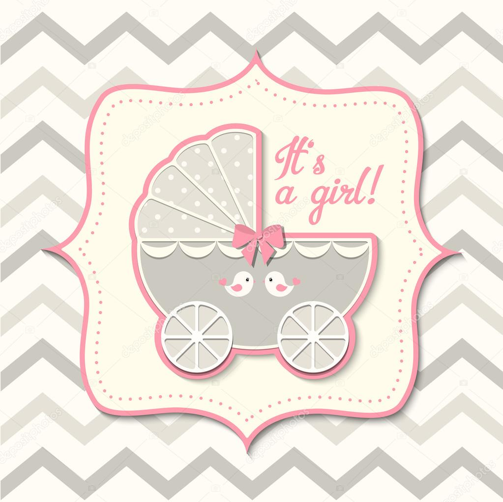 9ac8b2462 abstract vintage girl stroller