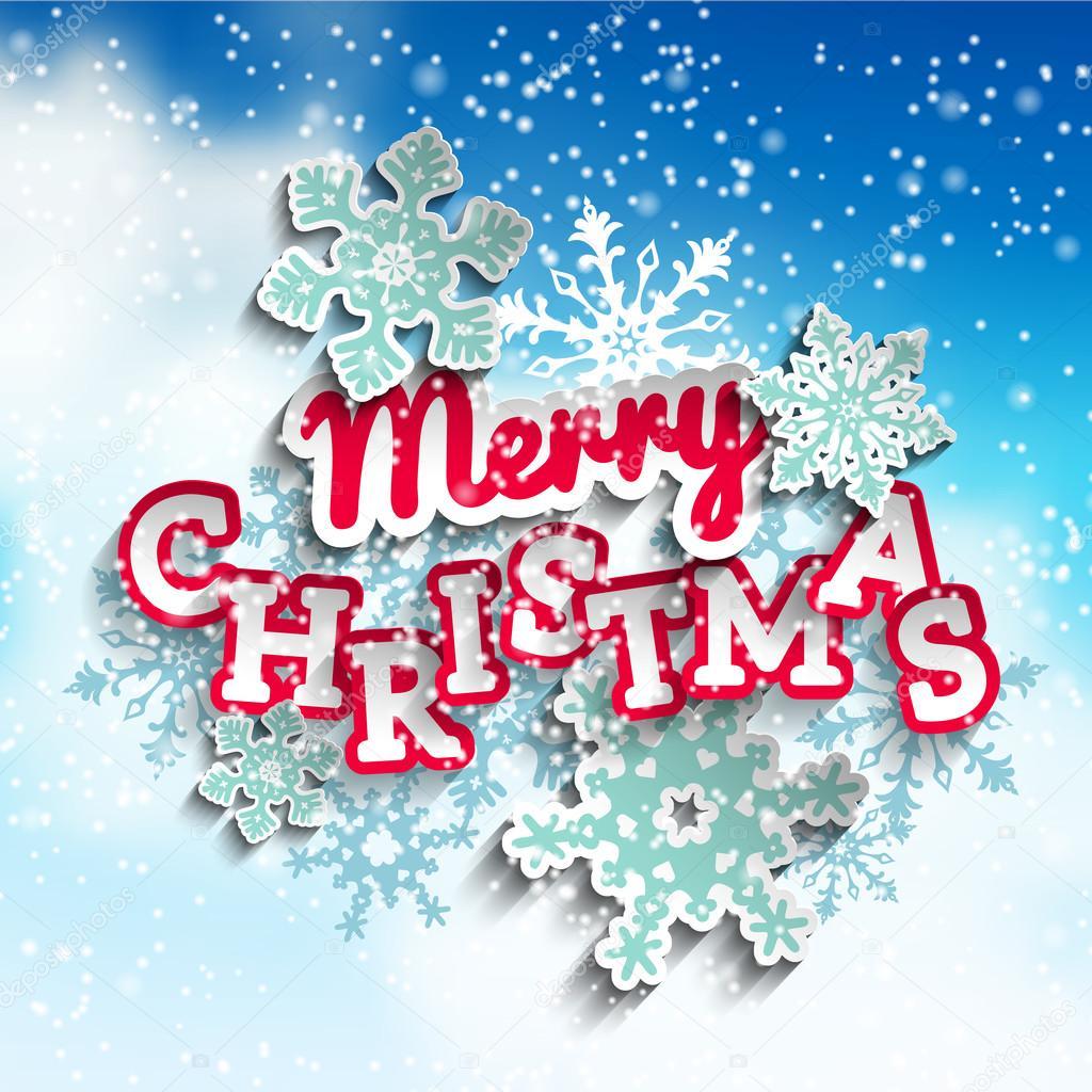 Buon Natale 883.Vettore Buon Natale In Cielo Testo Colorato Decorativo Buon Natale