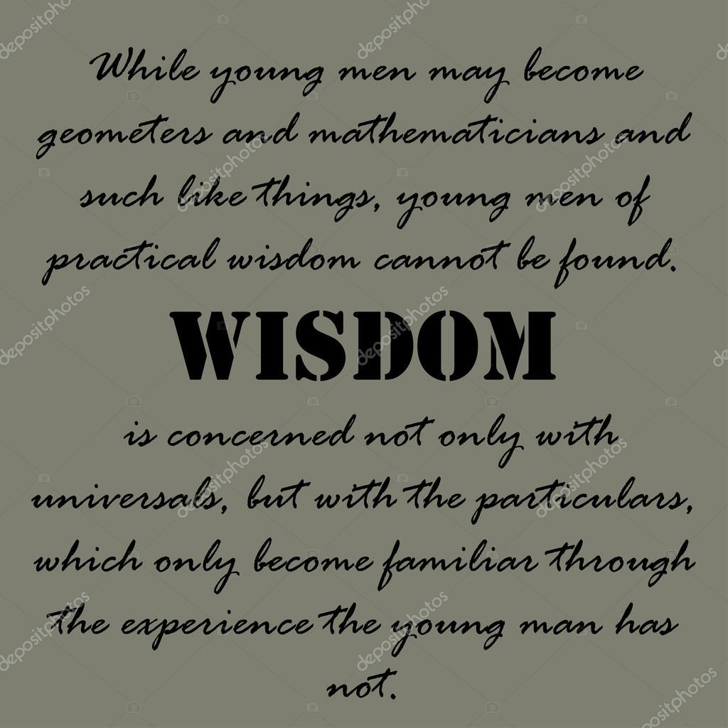 Arystoteles Cytaty Podczas Gdy Młodzi Ludzie Mogą