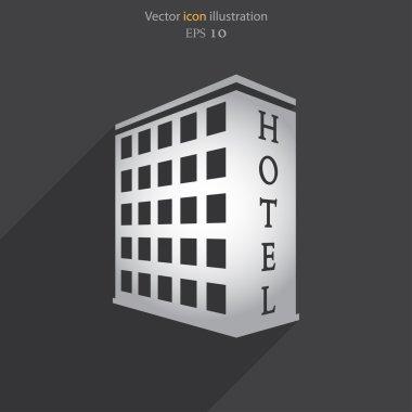 Vector hotel icon