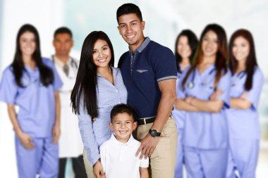 Family At Hospital