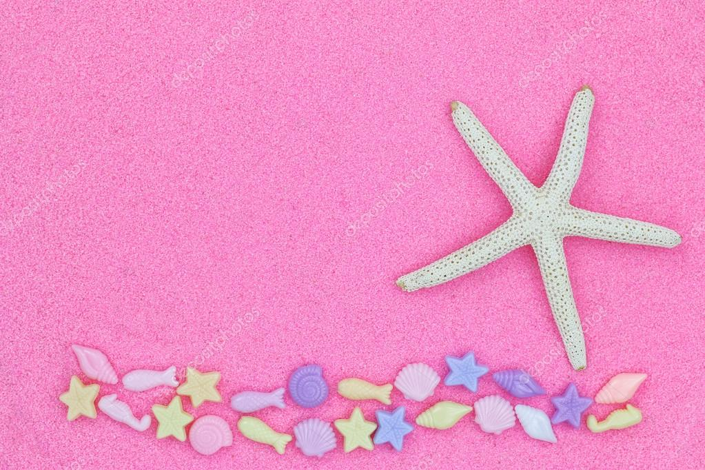 Pesci Della Stella Noto Come Stelle Di Mare E Vita Marina Perline