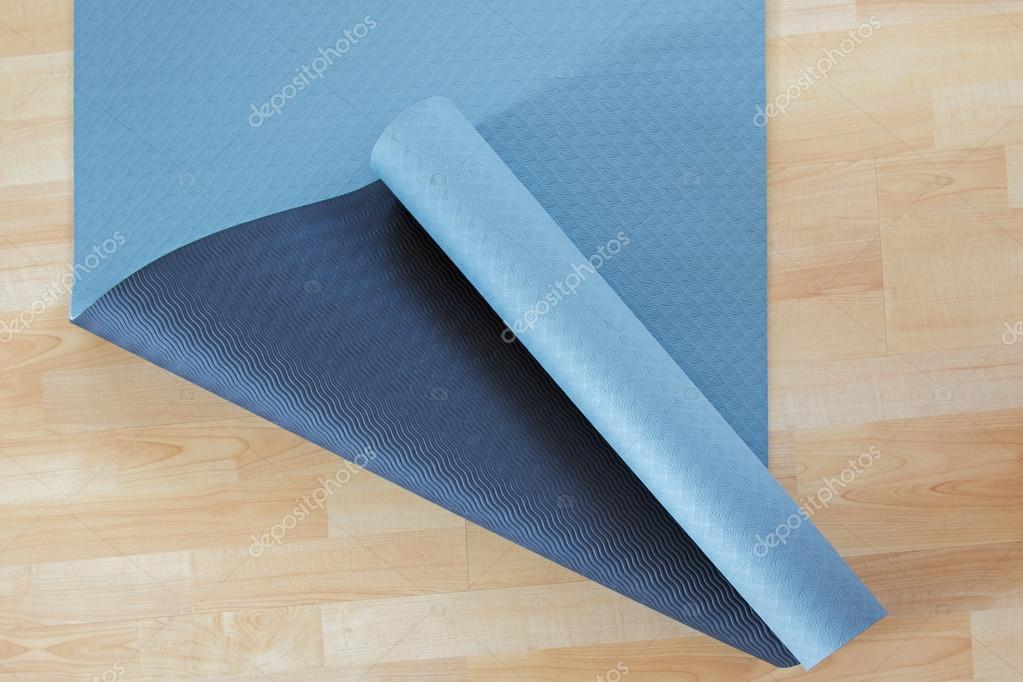 Holzfußboden Dicke ~ Anti rutsch blau und schwarz dicke fitness yoga praxis oder
