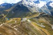 View of the Grossglockner High Alpine Road (Hochalpenstrasse)
