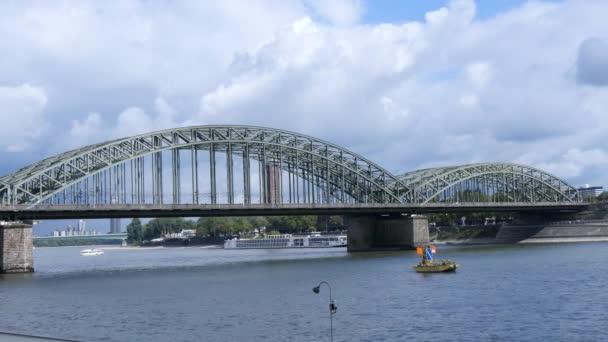 Brücke in Köln, Deutschland