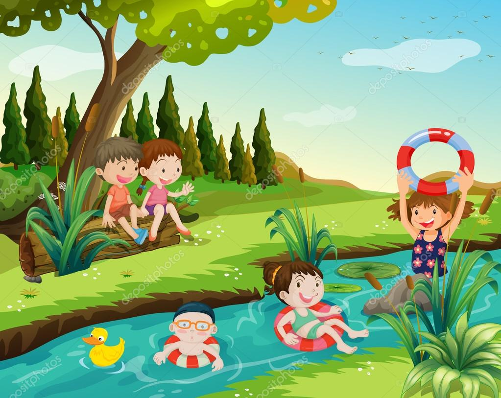 https://st2.depositphotos.com/1526816/10860/v/950/depositphotos_108600000-stock-illustration-children-swimming-in-the-river.jpg