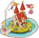 Hrad a děti