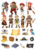 Fotografie Piráti a Vikingové