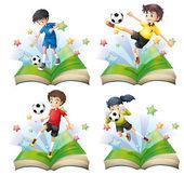 Fotbalové knihy sada