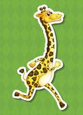 Šťastný žirafa