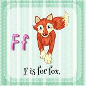 Písmeno f Fox