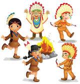 Fotografie indiáni