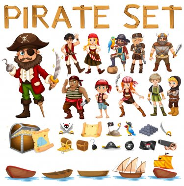 Pirate set