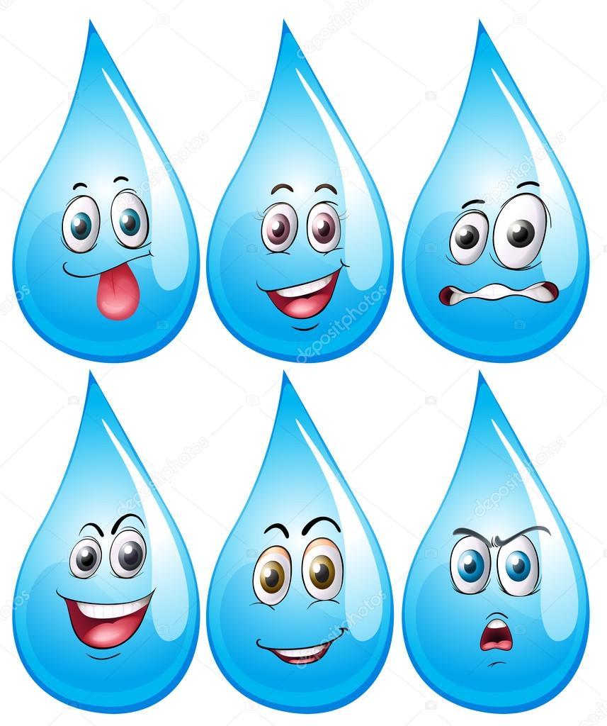 Water Drop Stock Vector Interactimages 65414197