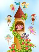 Photo Fairies and tower