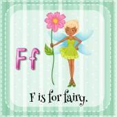 Kartičky písmeno F je pro vílu