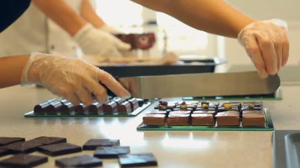 Čokoládové bonbony preapering na prodej