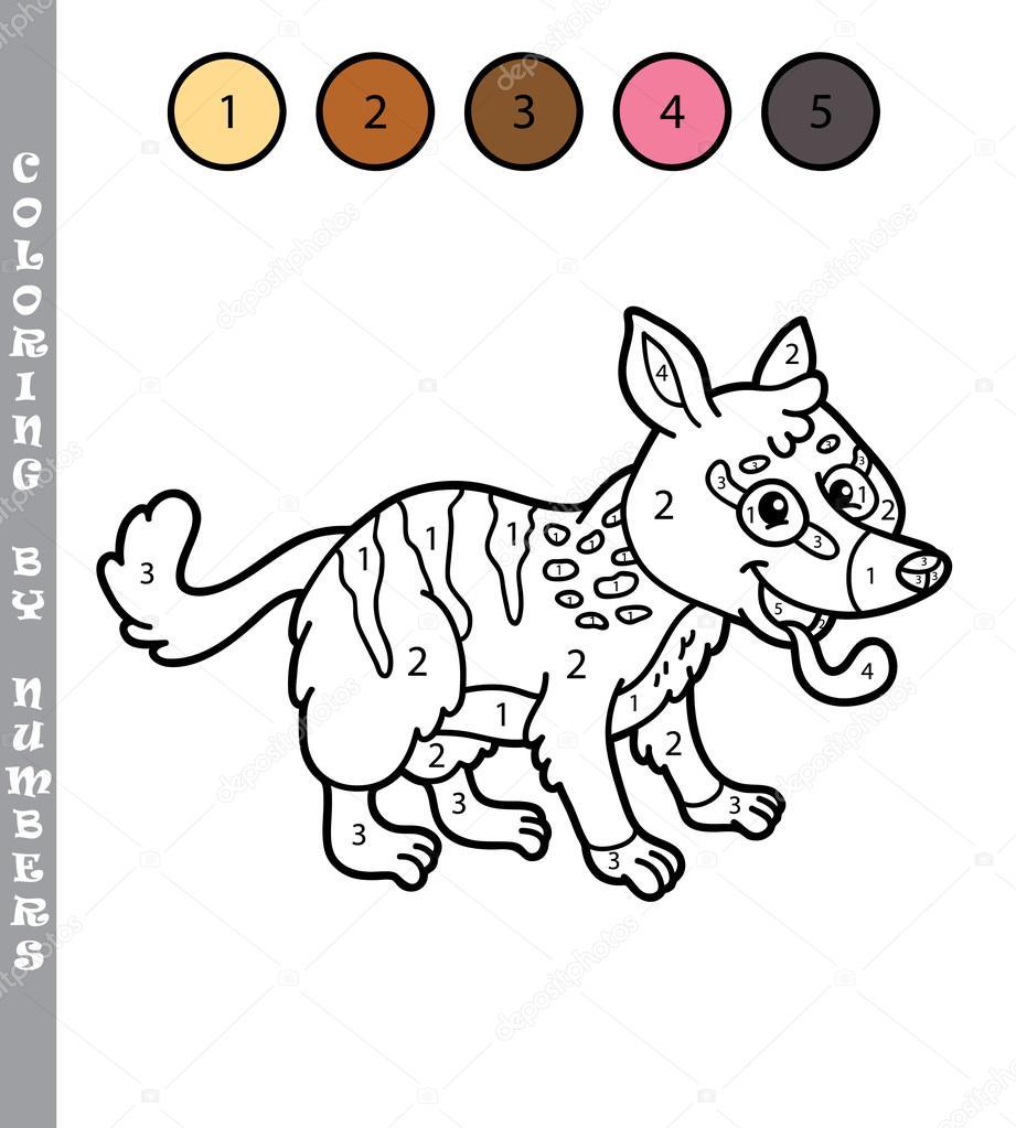 Dibujos Colorear Por Numeros Colorear Por Números Niños