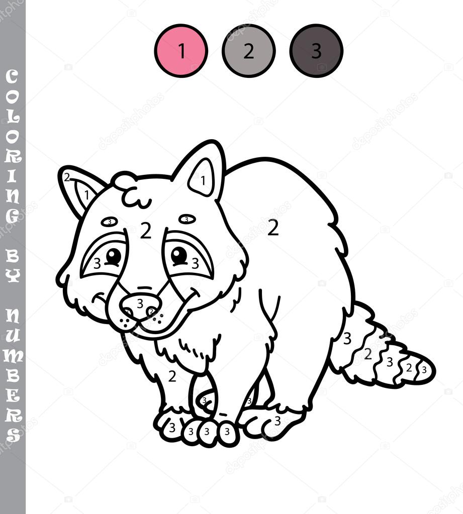 Kolorowanie Przez Numery Gry Edukacyjne Dla Dzieci Grafika