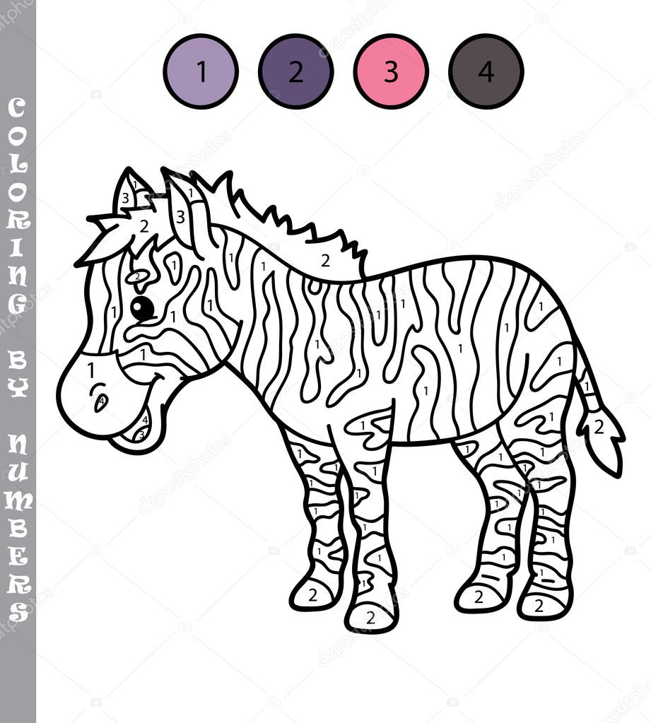 leuke educatieve kinderen kleurplaten pagina stockvector