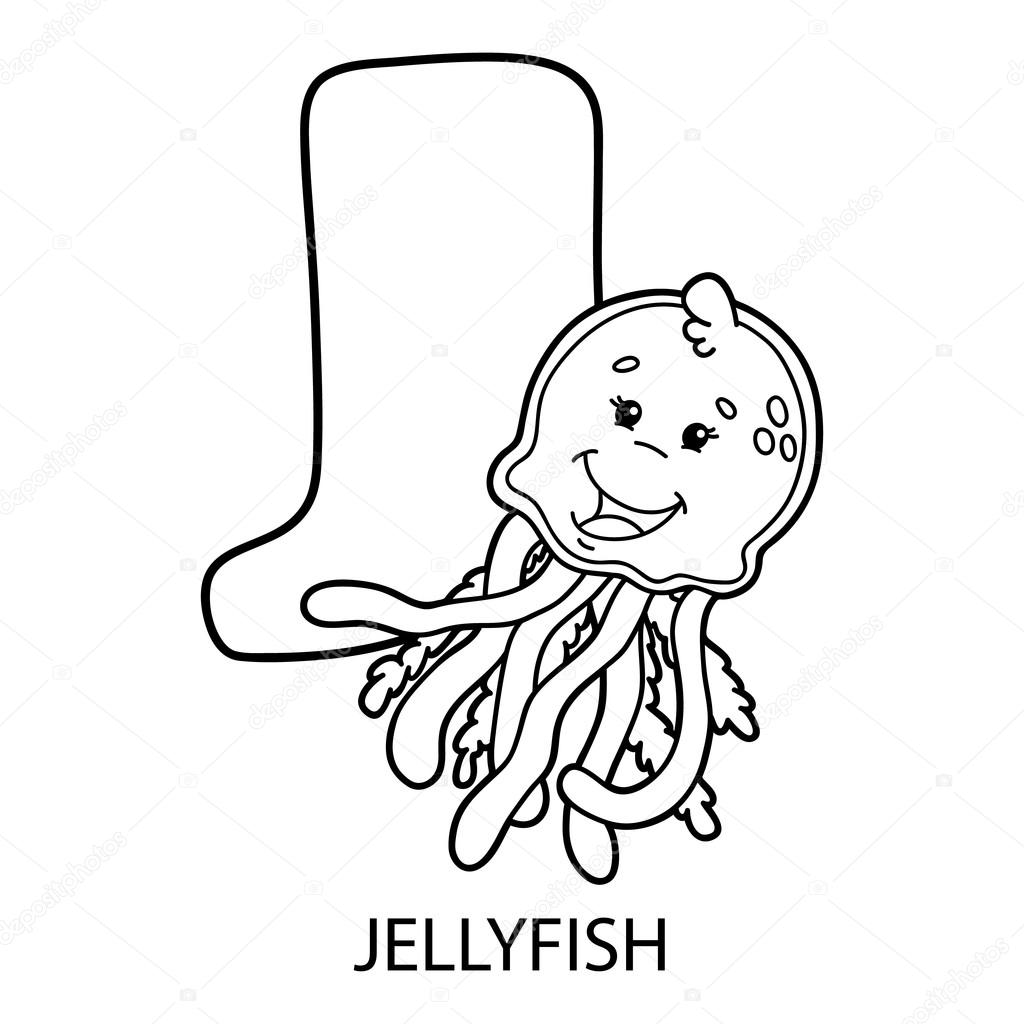 animal alphabet coloring page. — Stock Vector © boyusya #106896004