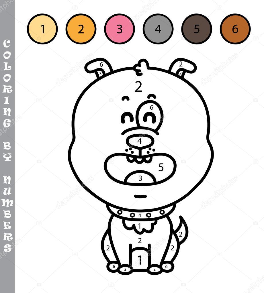 divertido para colorear por números educativos los niños juego ...
