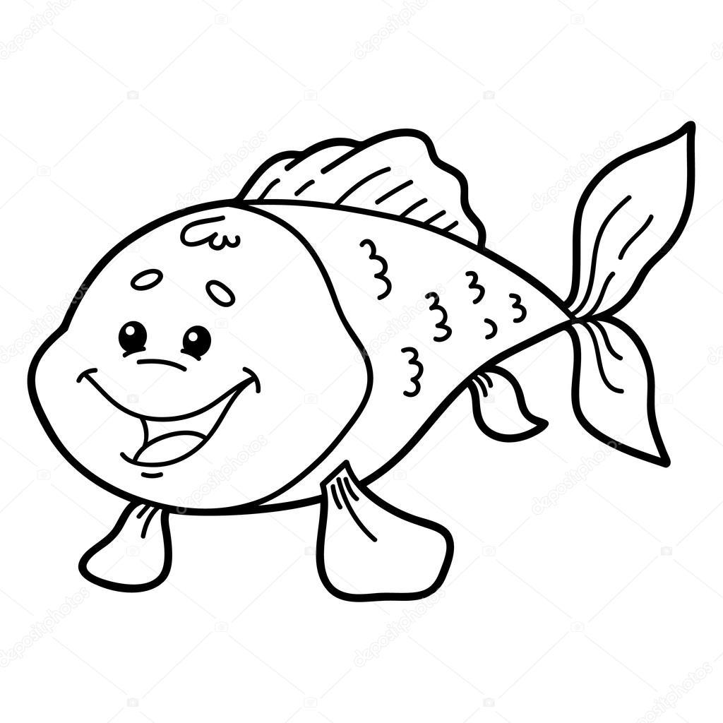 Pesce Carino Vettoriali Stock Boyusya 83911580