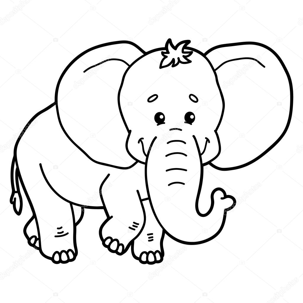 Cute Elephant Stock Vector C Boyusya 83911584