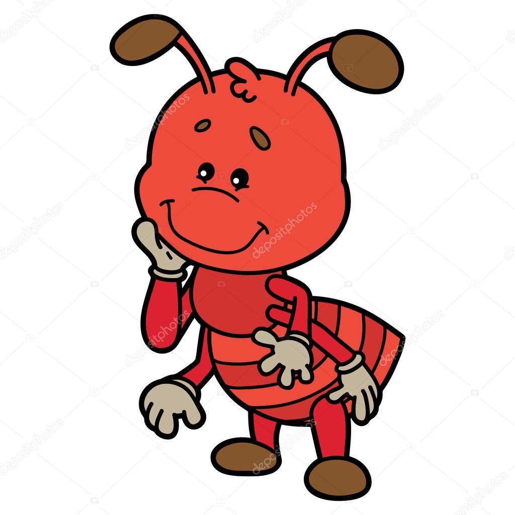 hormiga lindo — Archivo Imágenes Vectoriales © boyusya #83911688
