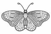 roztomilé butterfly.