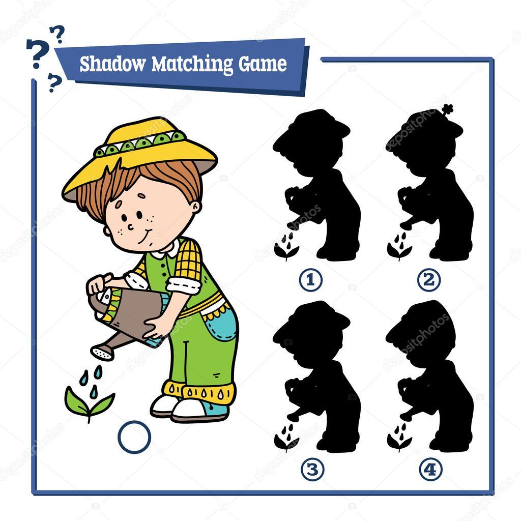 cute shadow gardener game.