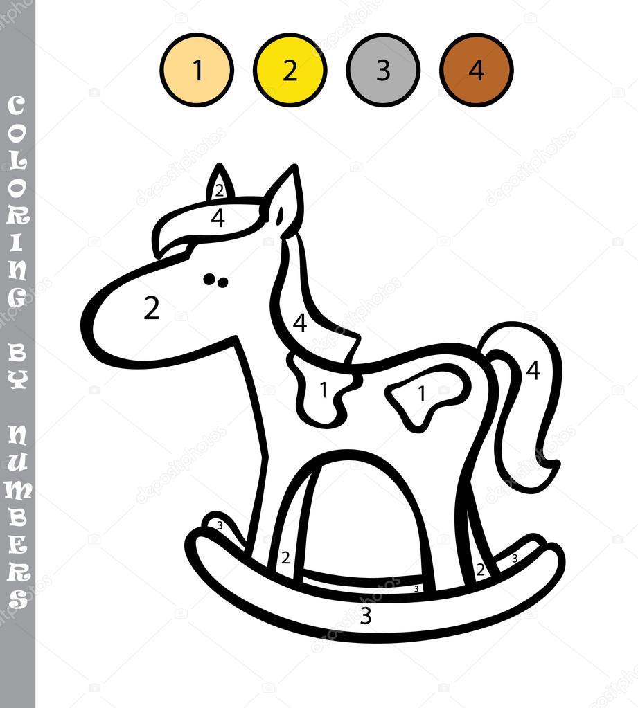 Colorear Caballos Juegos Divertido Para Colorear Por