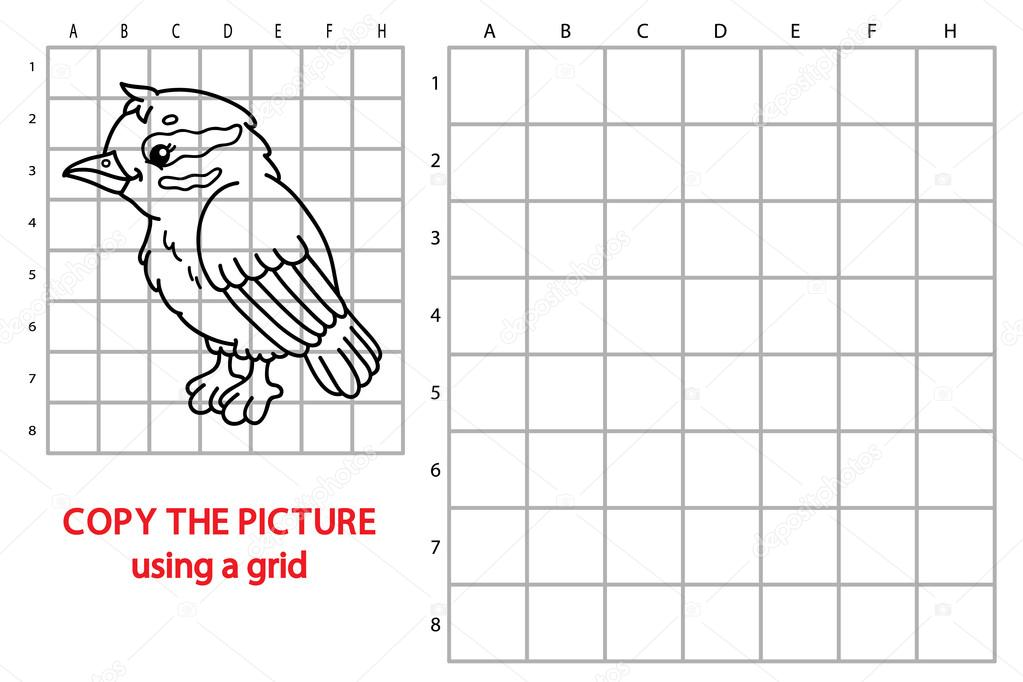 juego de pájaro divertido — Vector de stock © boyusya #98940656