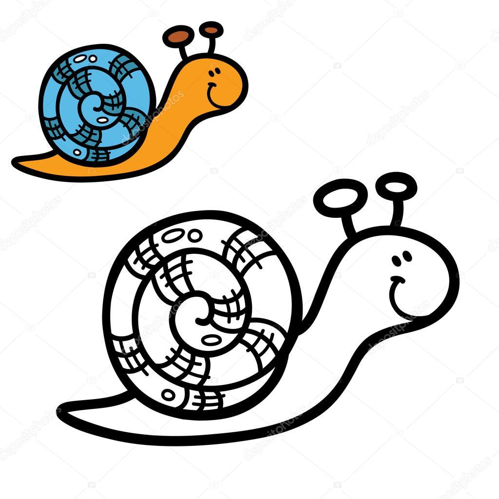 Komik Basit Boyama Sayfası Stok Vektör Boyusya 99525590