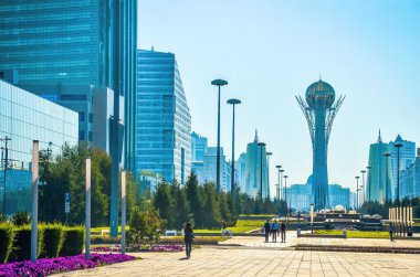 Bayterek is a monument and observation tower in Astana