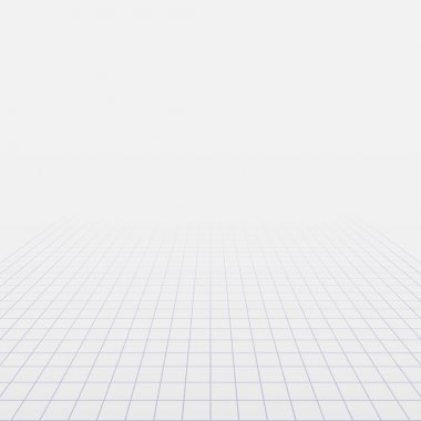 Background with perspective grid.