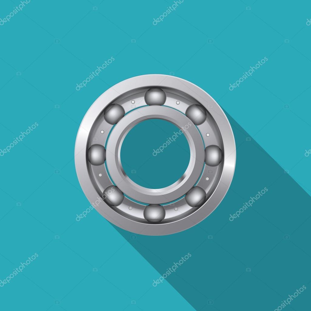 Ball bearing.