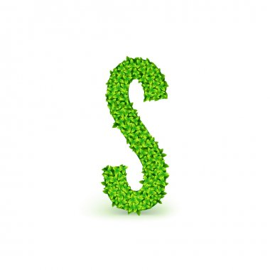 Green Leaves font S.
