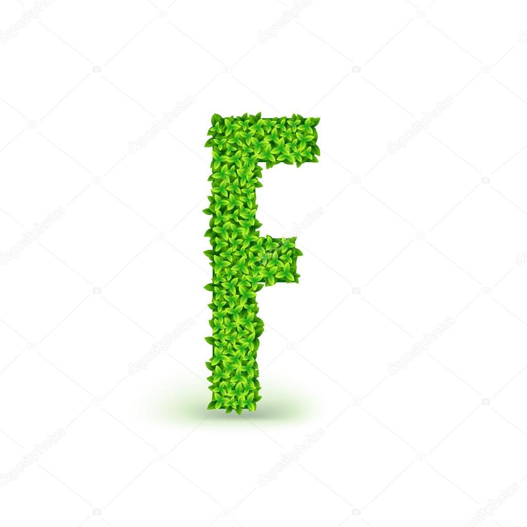 Green leaves font f stock vector master erik 78328562 green leaves font f stock vector biocorpaavc Gallery