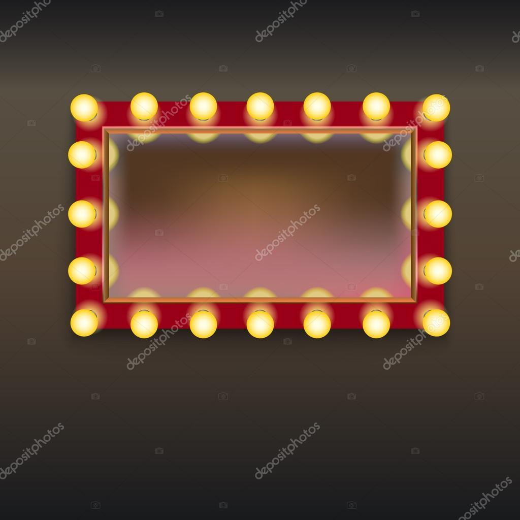 Espejo de maquillaje con luces archivo im genes for Luces camerino