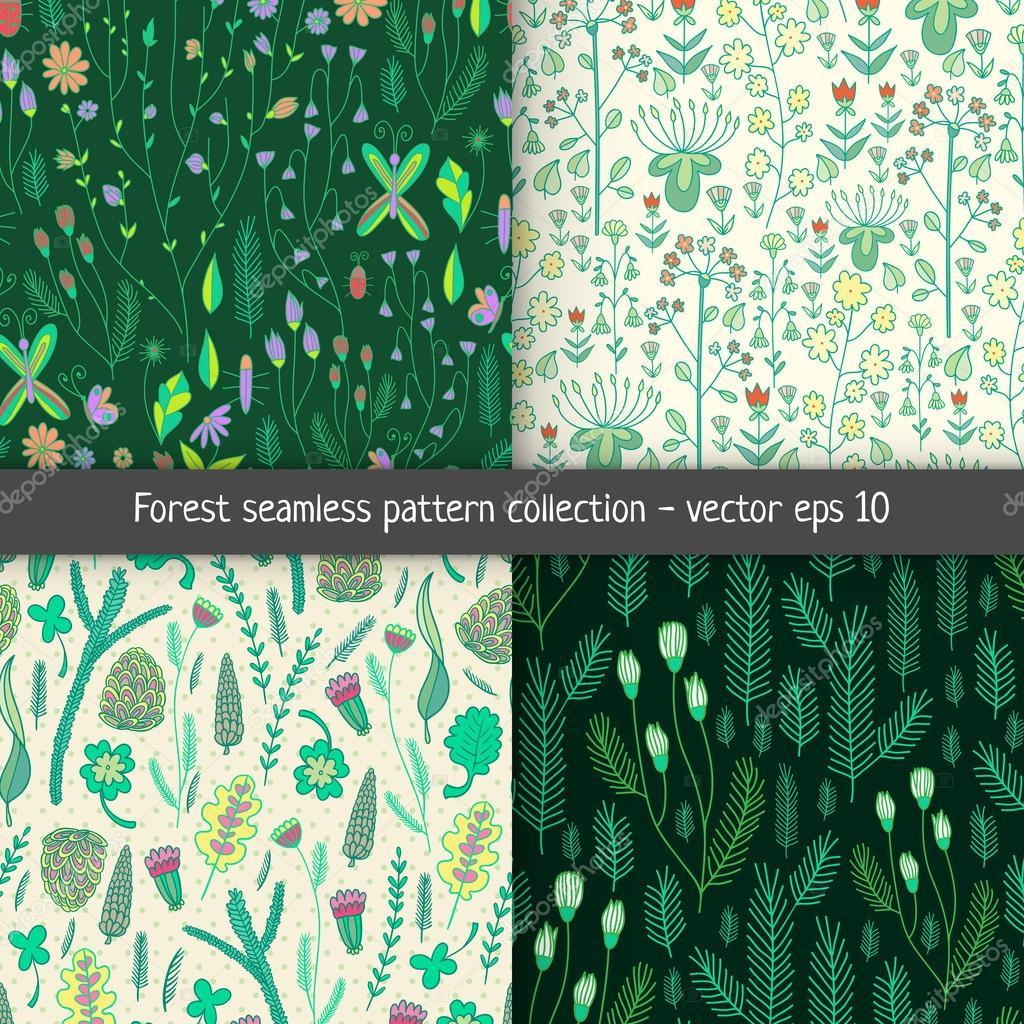 Forest pattern set