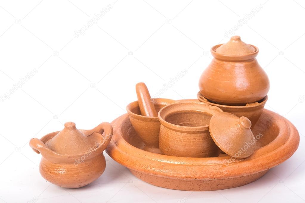 Artesanato Maceio File ~ Mini pote, argamassa e forno feito de argila, lembrança artesanato tailand u00eas u2014 Stock Photo