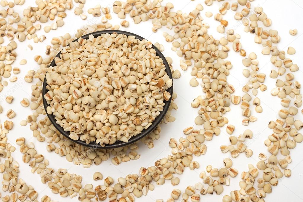 Coixseed or Jobs tears grains for health