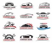Photo Car icon set