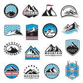 horská ikony nastavit