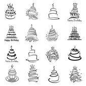 Fotografie set of cakes