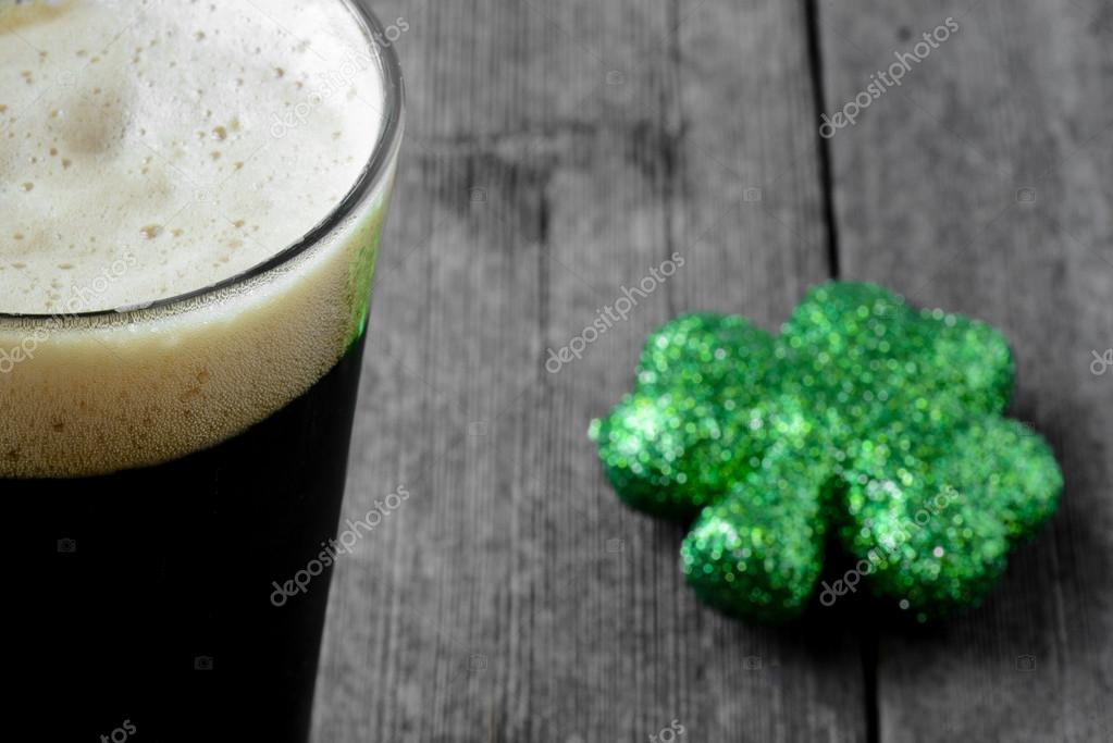 Dark irish beer